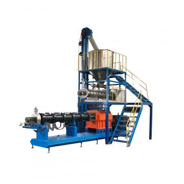Complete line small extrusion pellet extruder dry wet dog food making machine
