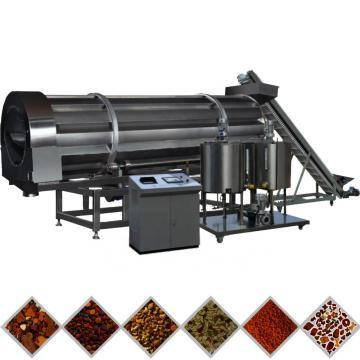 Pet twin screw fodder pet food pellet machine 100kg / h