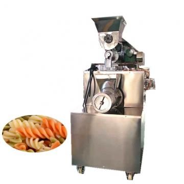 Full automatic macaroni pasta production line/screw pasta making machine/ manufacturing plant