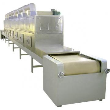 Vacuum/microwave wood /chips drying machine