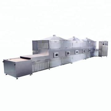 Vacuum/microwave wood /chips drying machine