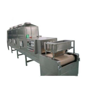 Industrial hemp continuous microwave drying machine conveyor dryer