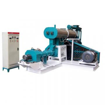 Automatic Floating Fish Feed Extruder Machine , Feed Production Machine