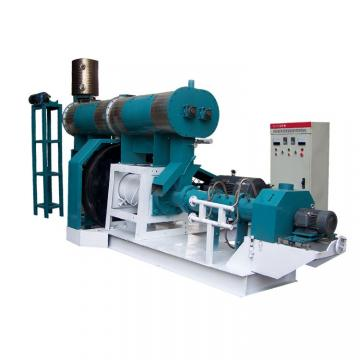 Double Screw Floating Fish Feed Making Machine , Aqua Feed Steam Extruder Equipment