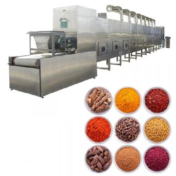 Hot Recycling Spice Dryer Machine Tunnel Microwave Sterilization Machine