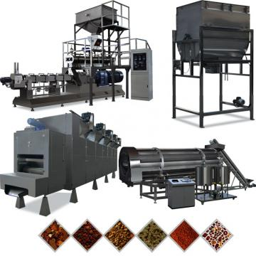 Free formula and installation 1000-1500kgs/h steam type extruder pet food machine