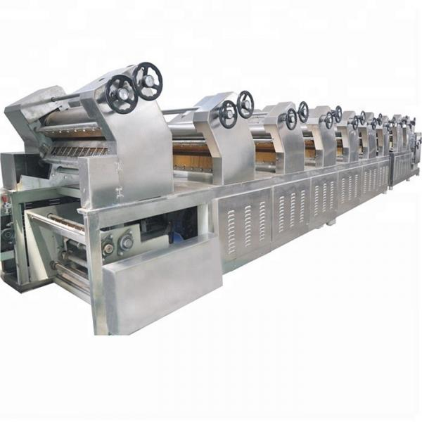 Small 11000pcs/8hours Instant noodle making machine production line