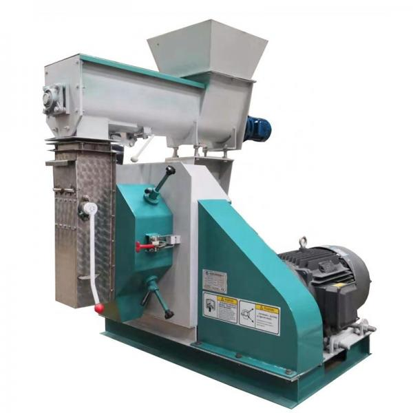 Double cone screw forcing feed machine for pellet making line