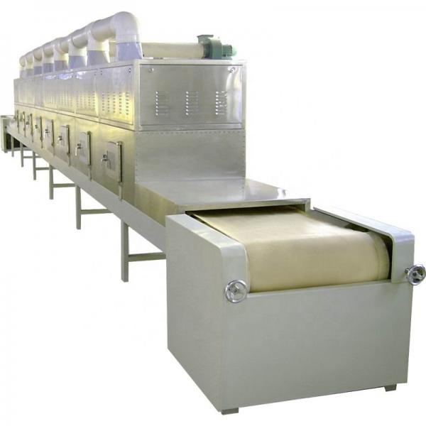 Microwave wood sawdust drying machine