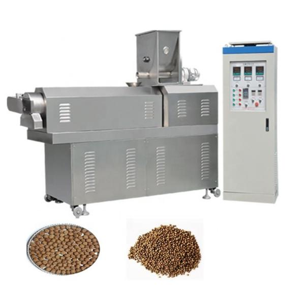 Fish food making extruder machine floating fish feed extruder