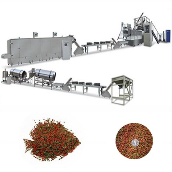 Floating fish feed extruder machine